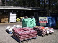 Fertilisers from Sun Valley Produce, Blue Mountains & Penrith.