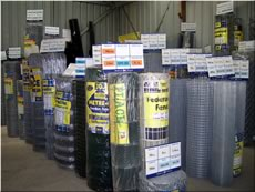Fencing materials from Sun Valley Produce, Blue Mountains & Penrith.